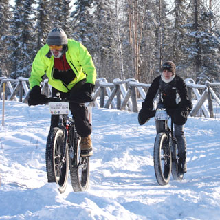 Fatbikes can take on even soft snow conditions. They're catching on in Sisters Country. Photo provided