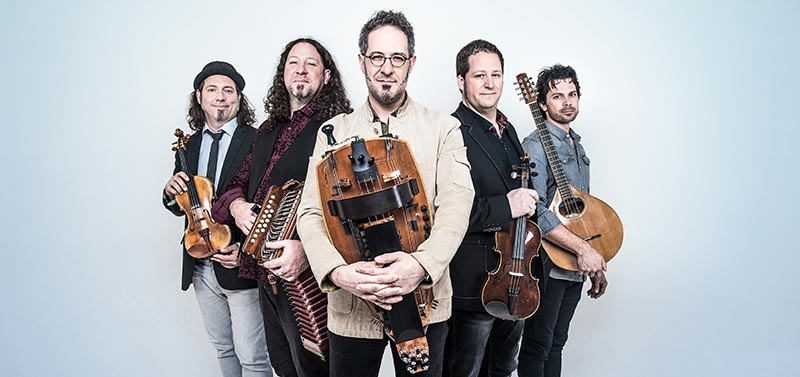Le Vent du Nord will bring their hard-driving, upbeat traditional Quebecois music to the stage at the Sisters Folk Festival. wphoto provided