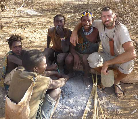 Joel van der Loon learned survival skills from indigenous peoples in Africa during his youth. He continued as an adult, learning from Masai, Hadzabe, and Rama tribespeople. photo provided